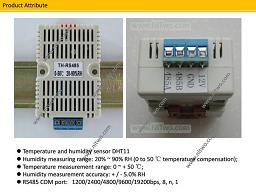 DHT11 RS485 Modbus Humidity Temperature Module